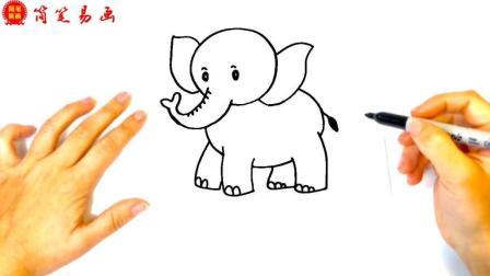 如何画大象 如此画大象 你说老师会怎么表扬你呢 超级霸气