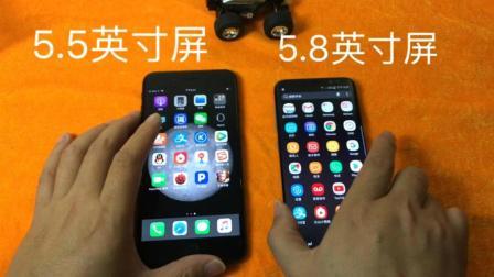 视频录制苹果7plus跟三星S8跑分速度对比, 一年前的产品看了这个也许你会考虑到如何选?