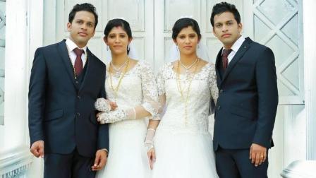 巧了, 双胞胎兄弟求婚双胞胎姐妹成功, 又生了一对双胞胎