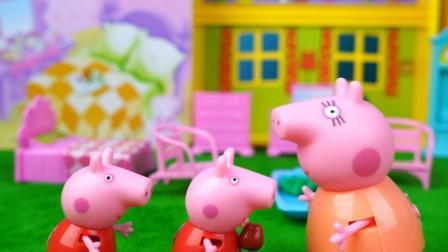 会变身的面具: 猪妈妈发现两个真假小猪佩奇