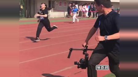 学校的运动会, 其实摄影师才是王者, 可以去做贝爷的备用摄影师了