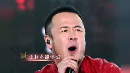 杨坤VS张杰灌篮高手主题曲《直到世界尽头》挑战高音, 前奏一响起瞬间泪目