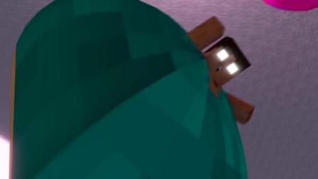 我的世界动画: 大胖子Him减肥记, 如果Him变成这样你还会喜欢他吗