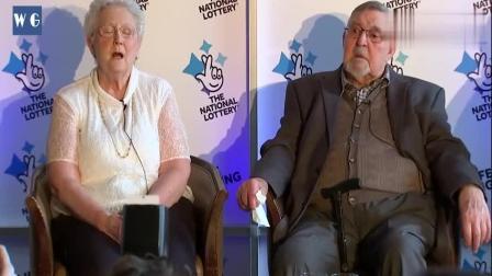英国老人买彩票中了1800万英镑 坚信中奖只是时间问题