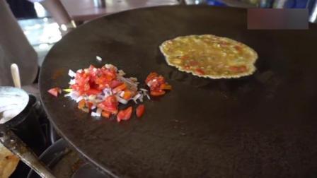 印度街头美食鸡蛋咖喱饼, 做着做着就往奇怪的方向发展了!