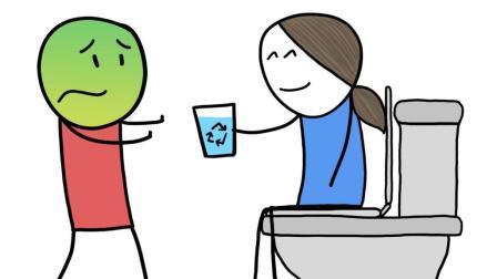 """你愿意喝下一杯净化过的""""污水""""吗?"""