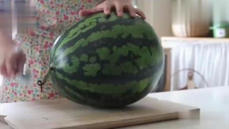 吃西瓜如何最文雅, 懒人的福音