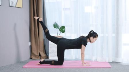 每天原地做4个动作, 不仅高效瘦腿+瘦臀, 还能有力矫正骻关节