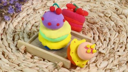 【丸子亲子课堂】粘土蛋糕