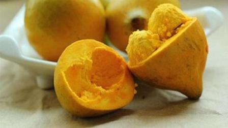 这种水果长得像蛋黄, 在市场价格在20至55元之间, 是一种极富市场前景的果树种植品种!