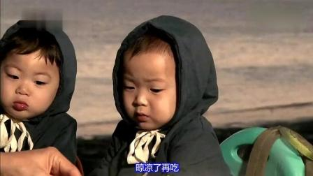 """宋家三胞胎: 民国""""咔哧""""一口就吃下了一整只大虾, 烫的直皱眉!"""