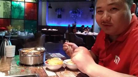 重庆火锅店加盟九江万达广场德庄店中国吃播评测