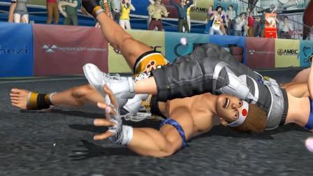 拳皇14 东丈被布鲁玛丽各种关节技
