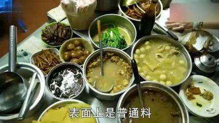 香港最实惠的街边美食, 这个车仔面档9个菜才35元, 抵到烂!