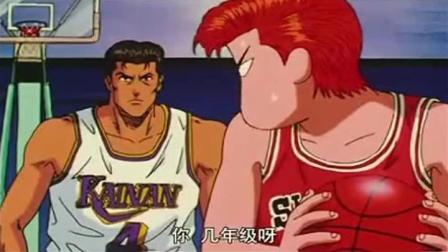 灌篮高手: 篮板疯子! 樱木花道篮板抢得海南队开始怀疑人生!