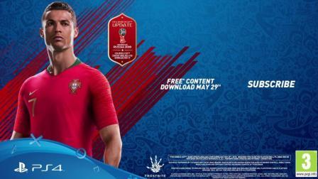 FIFA18  官方宣传片: 2018年俄罗斯世界杯