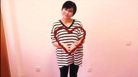 浪漫视频教学之心形玫瑰花