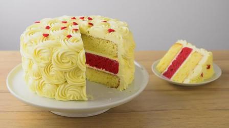 漂亮又好吃的红心女王蛋糕