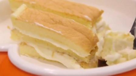 想吃奶油蛋糕不用裱花台, 不用裱花嘴也能做, 超简单!