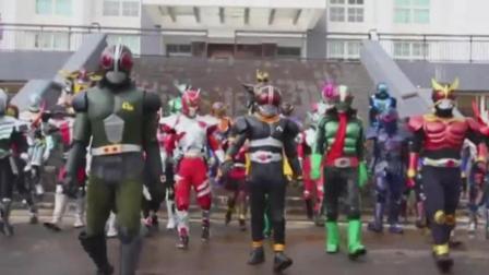 全假面骑士cosplay, 这是要拍剧场版吗