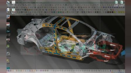 英菲尼迪汽车模具设计之横梁内板工艺思路分析以及模具设计结构