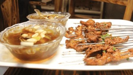 筷子视频: 涮锅油炸两不误, 一串两吃, 神奇吧?