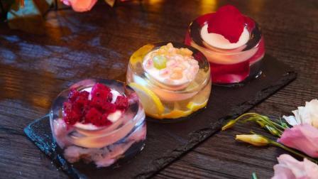 魔力美食 第一季 2分钟学会自制樱花果冻 口感和颜值都能甩甜品店一万条街