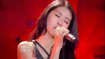 张碧晨我是歌手唱的这首歌, 全场疯狂了, 萧敬腾听得瞪大了双眼!