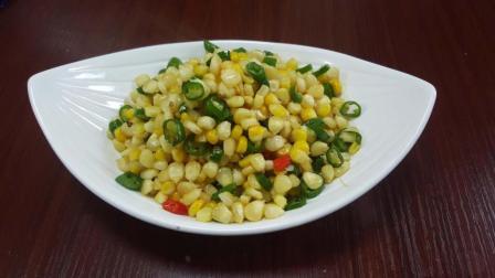 想要把青椒玉米炒好吃, 关键是怎样处理青椒