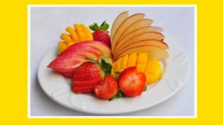各种水果花式切法  你还在为不会给辛苦做的蛋糕做装饰而烦恼?