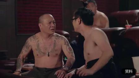 屌丝男士: 大鹏太厉害了! 在电影院和洪兴大B哥怼起来了
