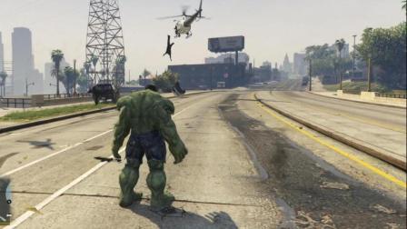 GTA5: 绿巨人的破坏力有多大?