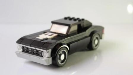"""创意手工DIY, 教你用乐高制作""""雪佛兰""""汽车模型的方法"""