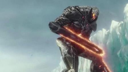 环太平洋2第六代机甲, 复仇流浪者VS怪兽机甲, 燃爆了