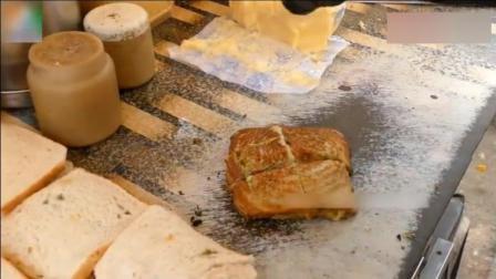 印度街头芝士黄油三明治, 突然觉得他们的黄油应该也是不要钱的