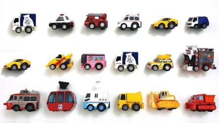 用积木做成的彩色小车