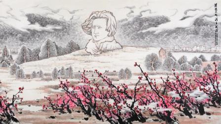 他用四年时间画汉字 得到沈鹏的认可 在北京办了人生中第一次展览