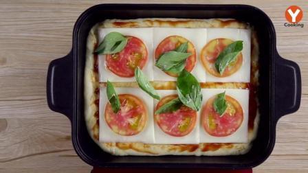 学会自己做披萨, 想放什么放什么, 做出来都好吃