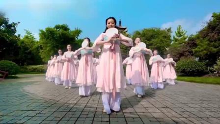 古典舞《花间梦》, 零基础学员三个月成果, 还是像模像样