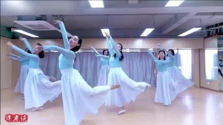 古典舞《半壶纱》, 领舞的小姐姐好漂亮, 就是小仙女