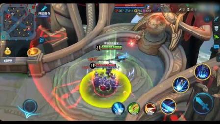 王者荣耀: 命运角斗场试玩罗马战场皮肤狂铁, 锤子的威力!