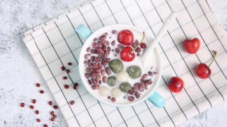 吃到夏天的味道, 抹茶蜜豆小丸子
