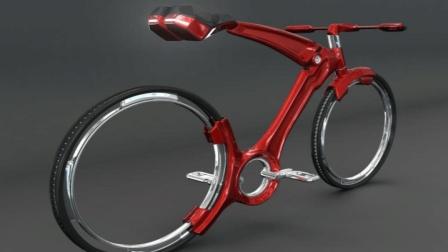 """比雨伞方便的自从车, 让人第一眼""""爱上""""它, 颠覆传统自行车"""
