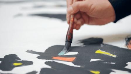 他想用三十年把全国各地画成画, 创作现代版清明上河图! 沉浮