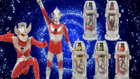 欧布奥特曼融合变身奥特胶囊, 泰罗奥特曼, 奥特胶囊玩具