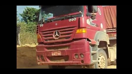超级卡车越野, 惊人的卡车驾驶技巧, 泥路上最好的卡车司机