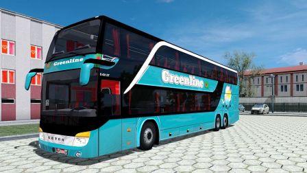 欧洲卡车模拟2 双层豪华天窗 西特 安凯客车