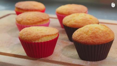 杯子蛋糕, 超简单的做法, 自己也做个出来试试
