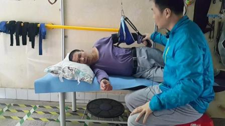简单悬吊锻炼让中风偏瘫手臂前后活动灵活