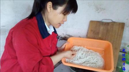 中国美食视频 生活印迹之米粉的泡发大全视频 江西特色美食 家常做法 走过那片海做美食